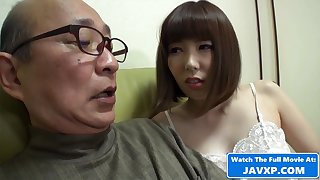 Japanese MILF Disclose Horny For Grandpa