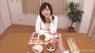 Hot ass Japanese amateur Yuu Asakura gets her pussy fucked hard