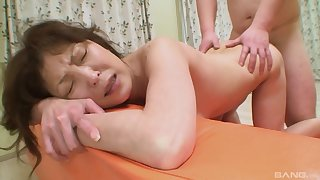 Japanese mature gets the dick she always wanted
