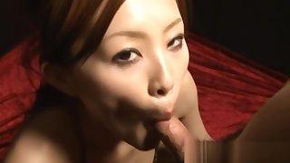 Bosomy horny Asian girls masturbating part5