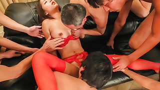 Group sex scenes along Satomi  - About at javhd.net