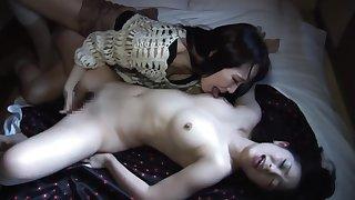 MNSK-002 Serious Fucking!! Girl on the top of Girl Lesbian girls